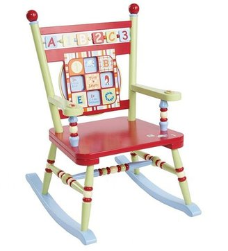 Levels of Discovery Cocalo baby alphabet soup rocking chair