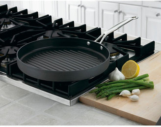 """Cuisinart Chef's Classic Nonstick Hard-Anodized 12"""" Grill Pan"""