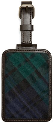 Brooks Brothers Blackwatch Plaid Luggage Tag
