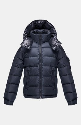 Moncler 'Chevalier' Hooded Down Jacket (Toddler Boys, Little Boys & Big Boys)