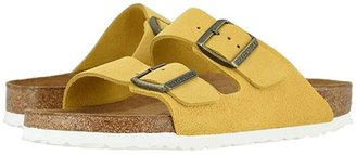 Birkenstock Arizona Soft Footbed (Jade Oiled Leather) Women's Sandals