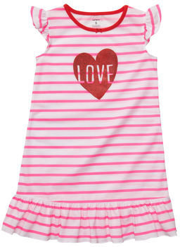 Carter's Flutter-Sleeve Jersey Nightgown