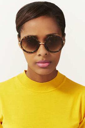 Topshop 60s Round Sunglasses