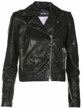 Diesel L-Sery Leather Jacket