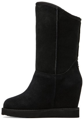 Australia Luxe Collective Angel Wedges with Sheep Shearling