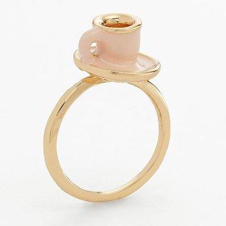 Lauren Conrad teacup ring