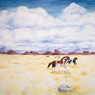Wild West Mural