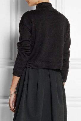 Suno Embroidered wool sweater