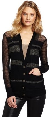 Twelfth St. By Cynthia Vincent by Cynthia Vincent Women's Metallic Cardigan