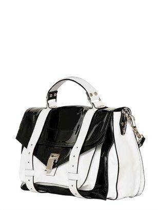 Proenza Schouler Ps1 Medium Patent Leather Satchel Bag