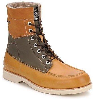 G Star Raw DISTRICT FUR men's Mid Boots in Beige