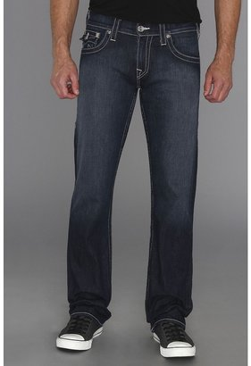 True Religion Ricky Straight Stretch Denim in Lonestar (Lonestar) - Apparel