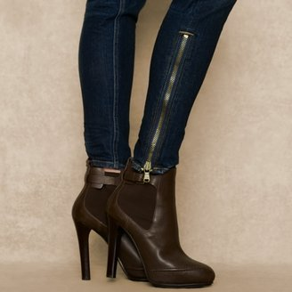 Ralph Lauren Blue Label Skinny-Fit Belt-Detail Jean