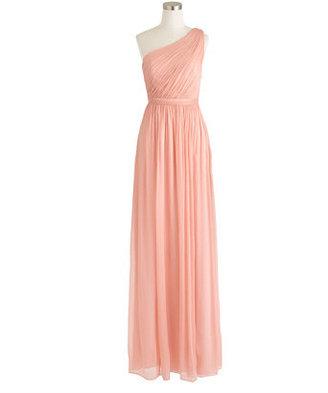 Kylie long dress in silk chiffon $298 thestylecure.com