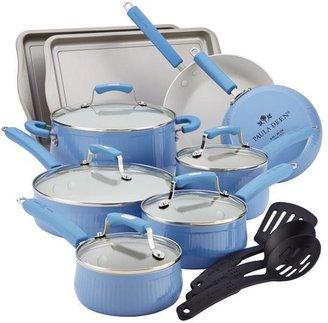 Paula Deen 17-pc. Nonstick Savannah Collection Cookware Set, Blueberry