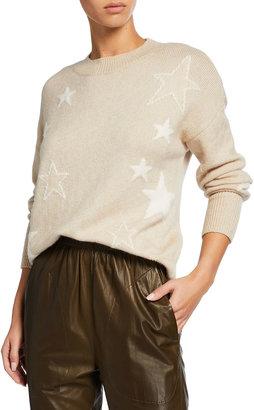 Rails Kana Star Jacquard Wool-Blend Sweater