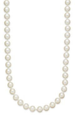 """Charter Club Imitation Pearl (8mm) Strand Necklace, 24"""" + 2"""" extender, Created for Macy's"""