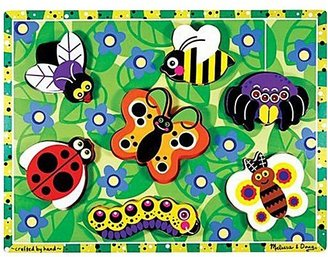 Melissa & Doug Insects Wooden Chunky Puzzle (7 pc)