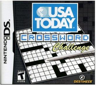 Nintendo ds TM usa today ® crossword challenge