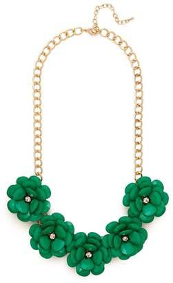BaubleBar Emerald Jumbo Bloom Bib