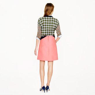 J.Crew Collection wool-silk A-line skirt