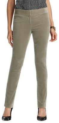 LOFT Marisa Velvet Skinny Pants