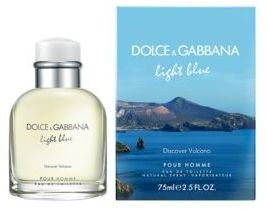 Dolce & Gabbana Light Blue Pour Homme 'Discover Vulcano' Eau De Toilette 2.5oz Limited Edition