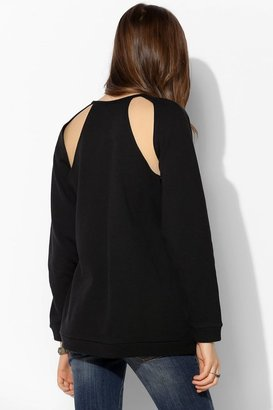 Urban Outfitters ByCORPUS Cutout Oversize Pullover Sweatshirt