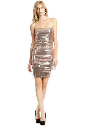 Nicole Miller Pink Champagne Party Dress
