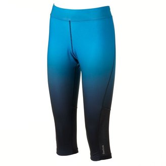 Reebok play dry ombre running capris
