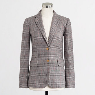 J.Crew Factory Factory hacking jacket in check