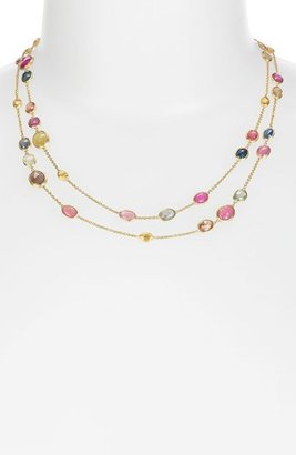 Marco Bicego 'Sivilgia' Long Sapphire Station Necklace
