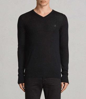 AllSaints Mode Merino V-neck Sweater
