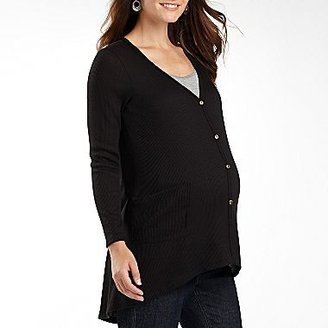 JCPenney Maternity Long-Sleeve Cardigan