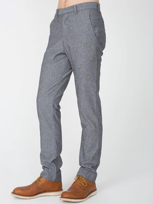 American Apparel Chambray Welt Pocket Pant