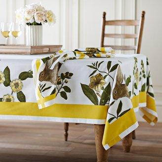 Williams-Sonoma Bunny Botanical Print Tablecloth