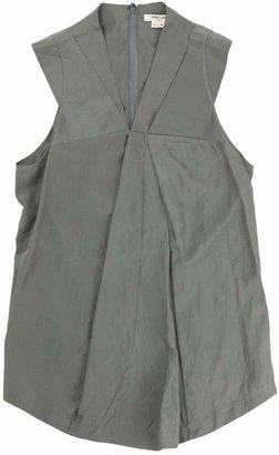 Helmut Lang \N Green / Grey Silk Tops