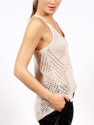 Elizabeth and James Slouchy Knit Tank