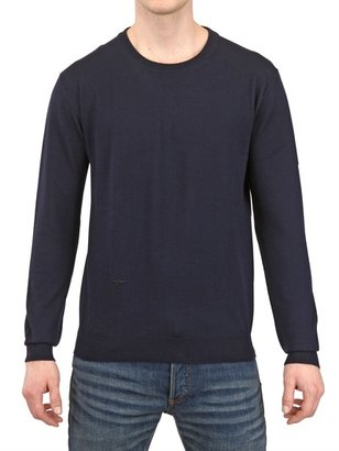 Christian Dior Bee Embroidered Wool Sweater