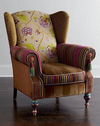Mackenzie Childs MacKenzie-Childs Bittersweet Wing Chair