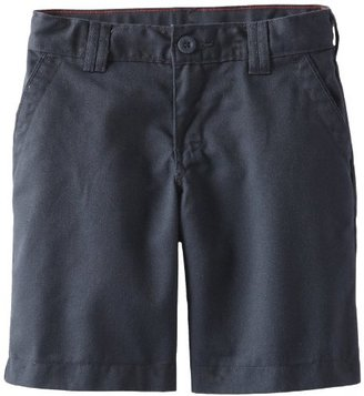 Dickies Big Girls' Flexwaist Flat Front Short