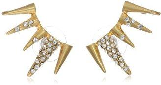 Sam Edelman Pave Spike Gold Ear Cuff