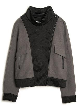 3.1 Phillip Lim Trompe L'Oeil Dolman Jacket