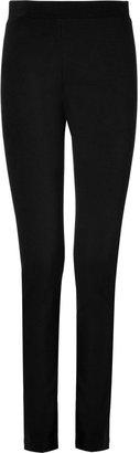 DKNY Slim Stretch Pants in Black