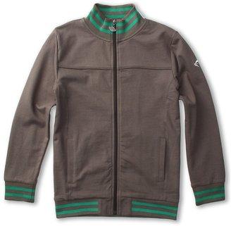 Appaman Kids - Boys' Retro French Terry Track Jacket (Toddler/Little Kids/Big Kids) (Vintage Black) - Apparel