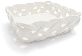 Sur La Table Woven Ceramic Napkin Holder