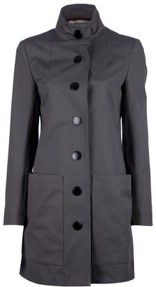 Balenciaga snap fastening coat
