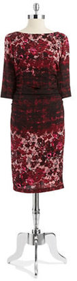 Tracy Reese Floral Crepe Dress