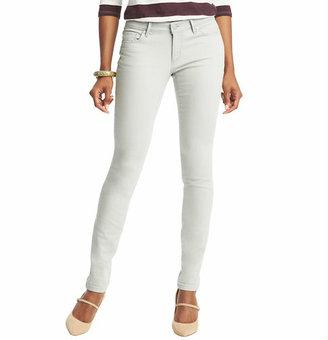 LOFT Curvy Skinny Jeans in Silver Grey