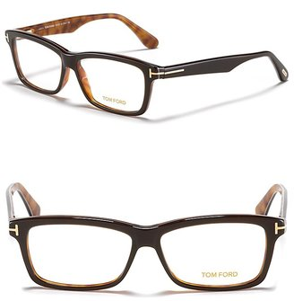 Tom Ford Wide Acetate Wayfarer Optical Frames